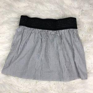 Heart Soul Women's Medium Striped Skirt